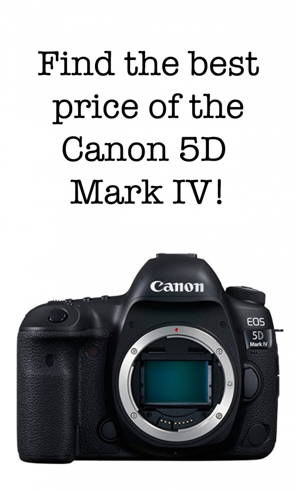 Price comparisons of the  Canon 5D Mark IV