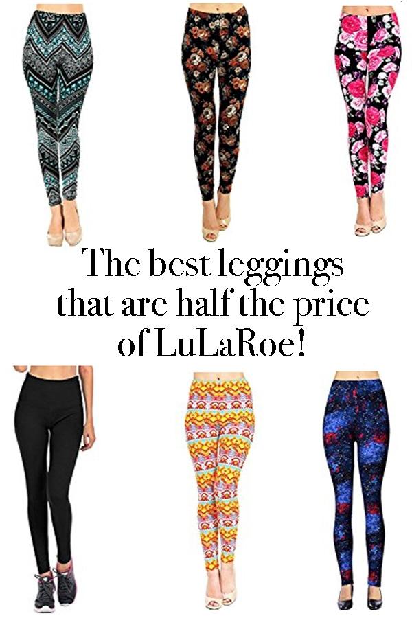 Cheap leggings, alternatives to LuLaRoe, best leggings