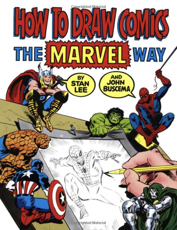 Learn how to draw comics the Marvel Way!