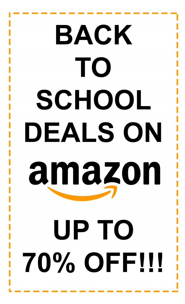 The Best Back to School Deals on Amazon!