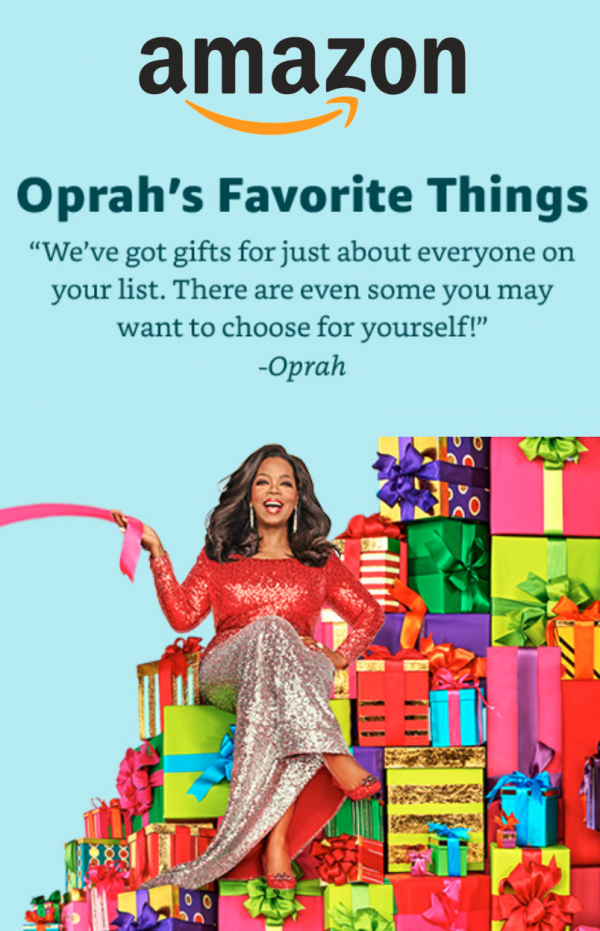 Oprah's Favorite Things from Amazon!