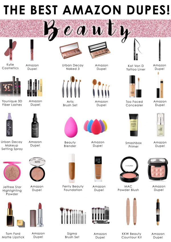 The Best Amazon Dupes!