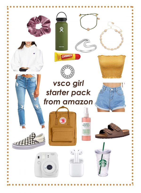 Vsco girl starter pack from Amazon