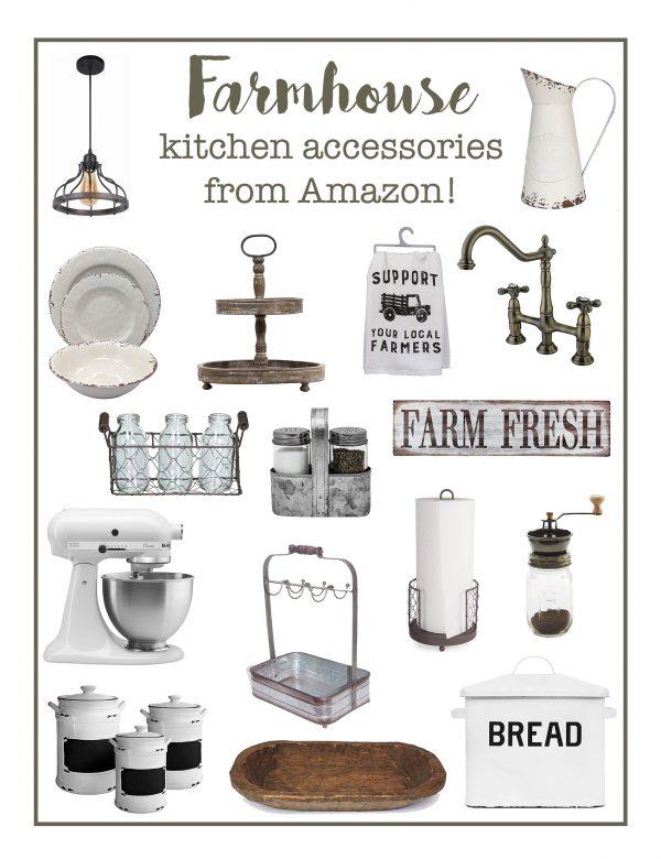Farmhouse Kitchen Accessories from Amazon!