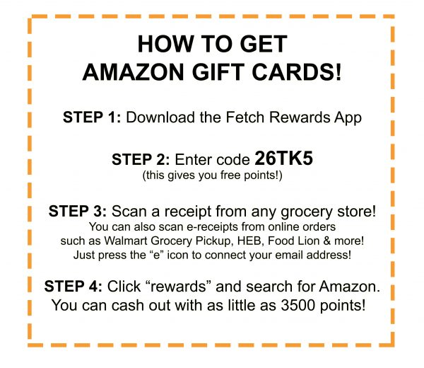 How to get Amazon Gift Cards!