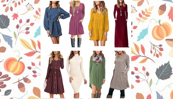 Fall Dresses from Amazon!