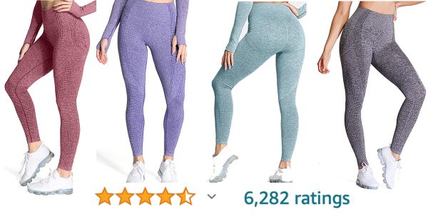 These popular leggings are 50% off with promo code!